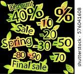 spring sale | Shutterstock .eps vector #576041608