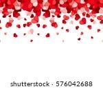 vector horizontal seamless... | Shutterstock .eps vector #576042688