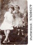 ussr  leningrad   circa 1933 ... | Shutterstock . vector #576084379