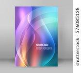 purple background advertising... | Shutterstock .eps vector #576085138