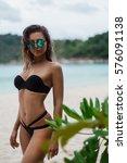 relax in the beach  | Shutterstock . vector #576091138