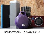 bluetooth speaker | Shutterstock . vector #576091510