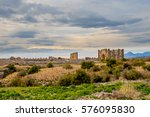 a ruined ancient city in turkey | Shutterstock . vector #576095830