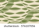 seamless pattern with decorated ... | Shutterstock .eps vector #576107056
