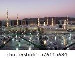 medina  kingdom of saudi arabia ... | Shutterstock . vector #576115684