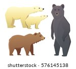 collection with different... | Shutterstock .eps vector #576145138