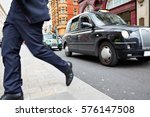 London Taxi At Oxford Street W...