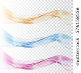 illustration abstract colorful... | Shutterstock .eps vector #576158536