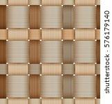 birchbark basketwork. seamless... | Shutterstock . vector #576179140