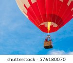 Colorful Of Hot Air Balloon...