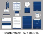 corporate identity design... | Shutterstock .eps vector #576183046