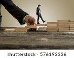 businessman in business suit...   Shutterstock . vector #576193336