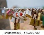 forever love or forever lock | Shutterstock . vector #576210730