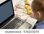 education  children  technology ...   Shutterstock . vector #576215074
