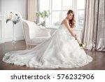 Wedding. Bride In Beautiful...