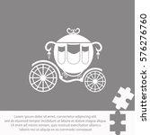 carriage  icon vector design. | Shutterstock .eps vector #576276760