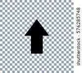 arrow icon on transporent... | Shutterstock .eps vector #576285748