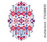 vector nordic ornament.... | Shutterstock .eps vector #576288850