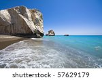 Aphrodite\'s Rock In Cyprus