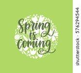 vector hand drawn motivational... | Shutterstock .eps vector #576294544