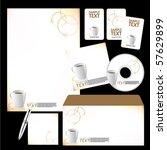 vector template background   Shutterstock .eps vector #57629899
