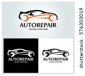 auto repair logo design... | Shutterstock .eps vector #576303019