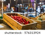 chilly peppers street food | Shutterstock . vector #576313924