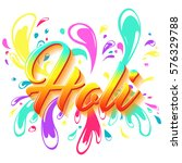 colorful flyer  banner or... | Shutterstock .eps vector #576329788