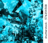 blue seamless texture withe... | Shutterstock .eps vector #576354508