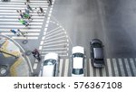 people walk on across the... | Shutterstock . vector #576367108