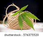 macro detail of hemp fiber... | Shutterstock . vector #576375520