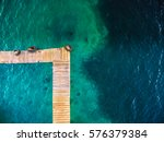 An Aerial Abstract View Of A...