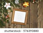 wishing you merry christmas .... | Shutterstock . vector #576393880