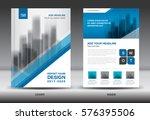 annual report brochure flyer...   Shutterstock .eps vector #576395506