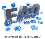 faq frequently asked questions... | Shutterstock . vector #576402850