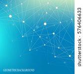 scientific chemistry pattern.... | Shutterstock .eps vector #576406633