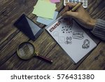 text strategy | Shutterstock . vector #576431380
