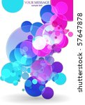 abstract colorful background.... | Shutterstock .eps vector #57647878
