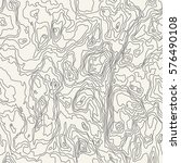 seamless pattern. topographic... | Shutterstock .eps vector #576490108