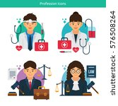 vector characters collection... | Shutterstock .eps vector #576508264