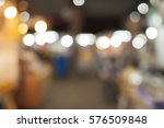 blur night market walking street | Shutterstock . vector #576509848