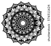 mandalas for coloring book.... | Shutterstock .eps vector #576511624