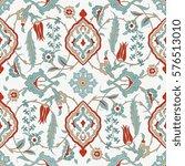traditional  arabic ornament... | Shutterstock .eps vector #576513010