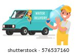 company for the delivery of... | Shutterstock .eps vector #576537160