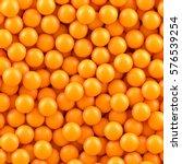 Orange Balls Background.