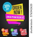 banner template sale modern...   Shutterstock .eps vector #576542620