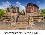 vatadage  round house  of... | Shutterstock . vector #576544318