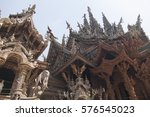 beautiful buddhist temple...   Shutterstock . vector #576545023
