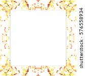 rectangular frame of... | Shutterstock . vector #576558934