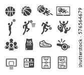 basketball icon   Shutterstock .eps vector #576564679